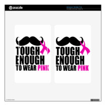 To wear Pink for cancer awareness Kindle Fire Skin