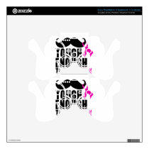 To wear Pink for cancer awareness PS3 Controller Decal