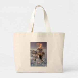 to winter solstice tote bags