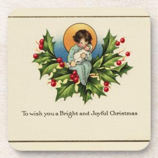 To Wish You a Bright and Joyful Christmas Coaster