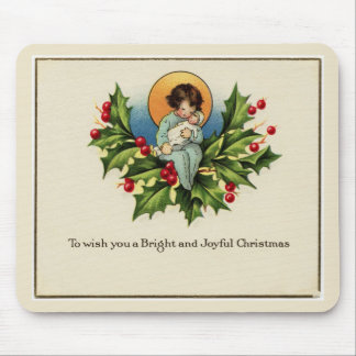 To Wish You a Bright and Joyful Christmas Mouse Pad