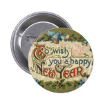 To Wish You a Happy New Year Button