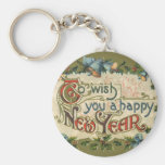 To Wish You a Happy New Year Keychain