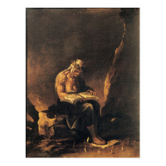 To Witch - Salvatore Rosa (1646) Postcard