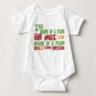 To Work in a Park Baby Bodysuit