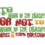 To Work in the Library Photo Sculpture Ornament