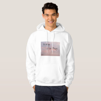 TO WORK IS TO PLAY SARGENT CLOUD MANS HOODIE