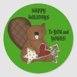 To YOU and YOURS! Round Stickers
