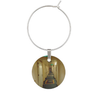 To Your Cabin Wine Glass Charm