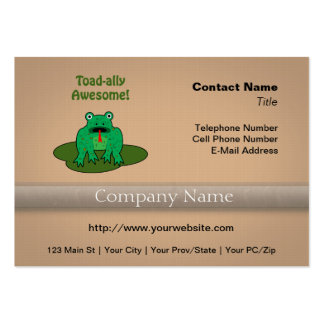 Toad-ally Awesome Business Cards
