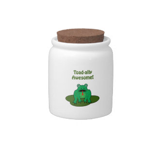 Toad-ally Awesome Candy Jars