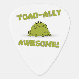 Toad-ally Awesome Guitar Pick