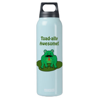 Toad-ally Awesome Insulated Water Bottle