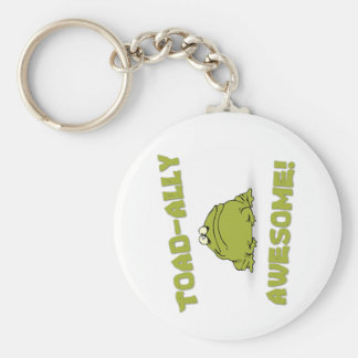 Toad-ally Awesome Keychain