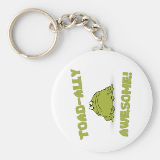 Toad-ally Awesome Key Chain