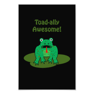 Toad-ally Awesome Photographic Print