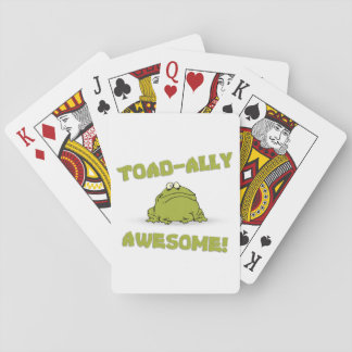 Toad-ally Awesome Playing Cards