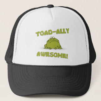 Toad-ally Awesome Trucker Hat