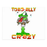 Toad-ally Crazy Postcard