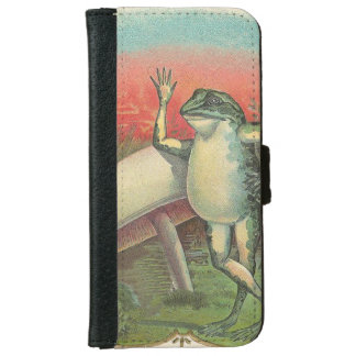Toad and Mushroom Wallet Phone Case For iPhone 6/6s