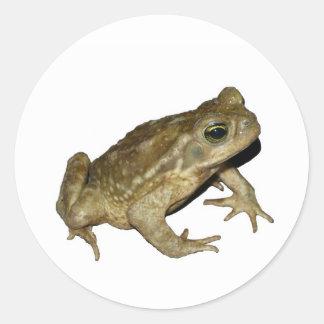 Toad Classic Round Sticker