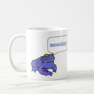 Toad-day is Monday. Coffee Mug