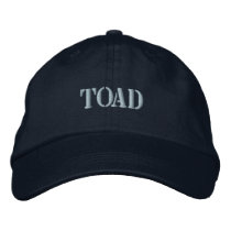 TOAD EMBROIDERED BASEBALL HAT