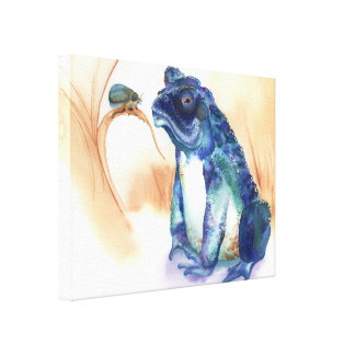 Toad, Frog Canvas Print