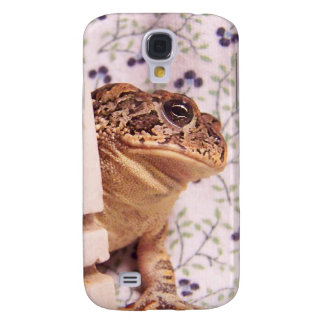 Toad frog marble chess piece prop flowered back samsung galaxy s4 case