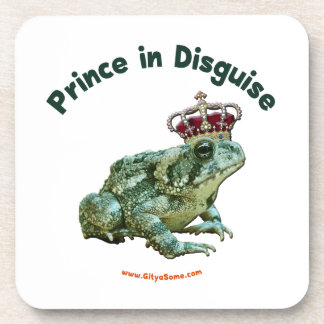 Toad Frog Prince in Disguise Drink Coasters