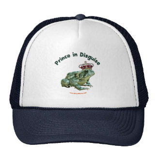 Toad Frog Prince in Disguise Hat