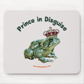 Toad Frog Prince in Disguise Mouse Pads