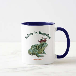 Toad Frog Prince in Disguise Mug