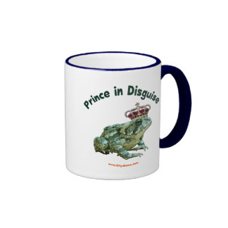Toad Frog Prince in Disguise Ringer Mug