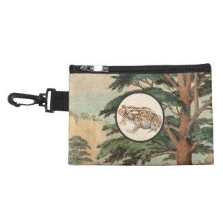 Toad In Natural Habitat Illustration Accessories Bag
