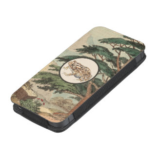 Toad In Natural Habitat Illustration iPhone 5 Pouch