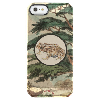 Toad In Natural Habitat Illustration Uncommon Clearly™ Deflector iPhone 5 Case