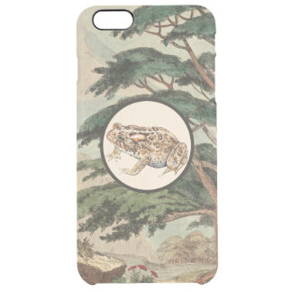 Toad In Natural Habitat Illustration Uncommon Clearly™ Deflector iPhone 6 Plus Case
