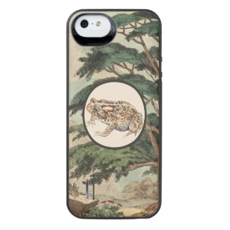 Toad In Natural Habitat Illustration Uncommon Power Gallery™ iPhone 5 Battery Case