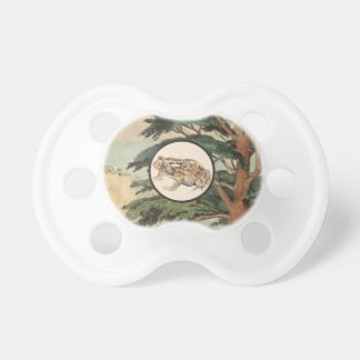 Toad In Natural Habitat Illustration BooginHead Pacifier