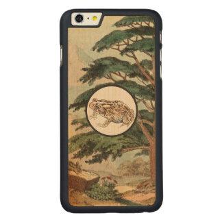 Toad In Natural Habitat Illustration Carved® Maple iPhone 6 Plus Slim Case