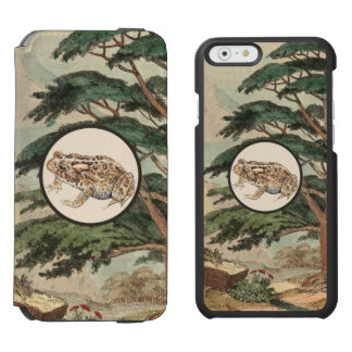 Toad In Natural Habitat Illustration Incipio Watson™ iPhone 6 Wallet Case