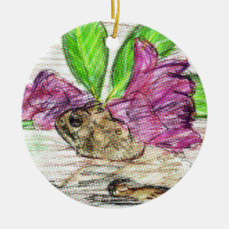 Toad-o-dendron Ceramic Ornament