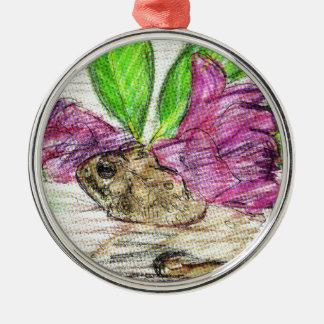 Toad-o-dendron Metal Ornament