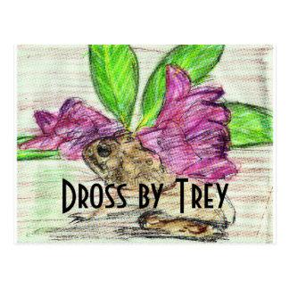 Toad-o-dendron shameless self promotion postcard