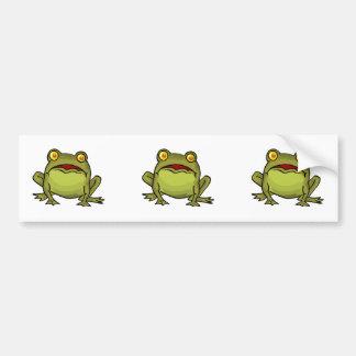Toad Stare Bumper Sticker