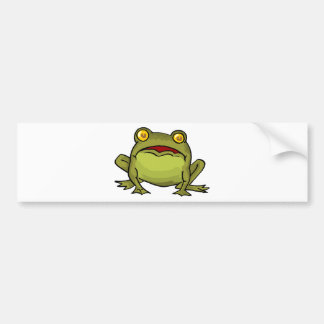 Toad Stare Bumper Sticker