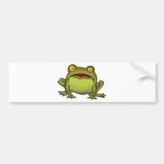 Toad Stare Car Bumper Sticker