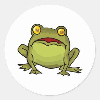 Toad Stare Classic Round Sticker