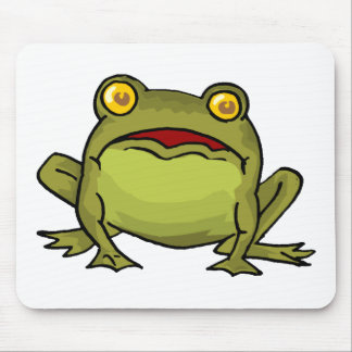 Toad Stare Mouse Pads